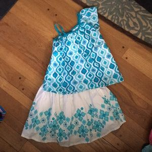 Gymboree skirt set